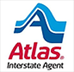 Atlas Van Lines Interstate Agent badge recognizing Centurion Moving & Storage as Genuine Atlas Moving Company