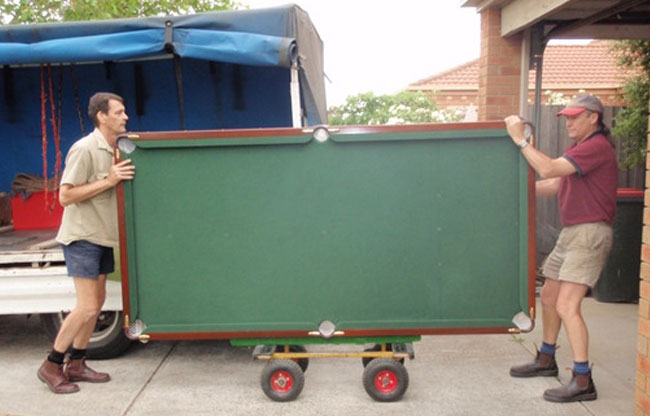 Pool Table Movers in Greenwood, Mo