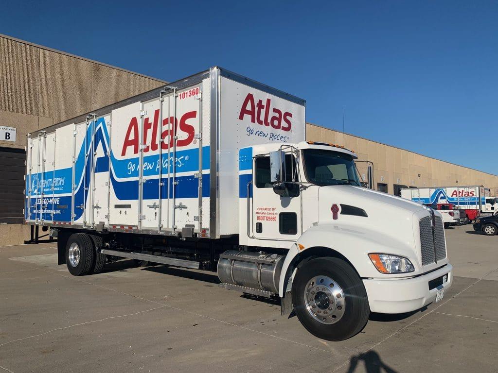 New Atlas & Centurion Moving co-branded moving trucks